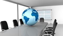 Global market Stock Illustration