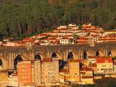 Aquaduct's End, Lisbon Stock Photos