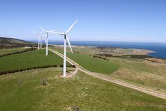 wind farm south australia - stock photo