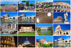 Rome collection Stock Illustration