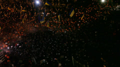 Strike in Ukraine - Revolution is continuing! Stock Footage