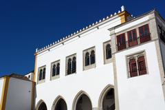 sintra national palace, sintra, portugal - stock photo
