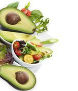Avocado salad Stock Photos