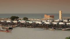 Senegal. Bay Stock Footage