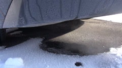 Tailpipe, Exhaust, Emissions, Air Pollution - stock footage