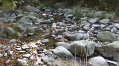 Madriu river at Ramio Stock Footage