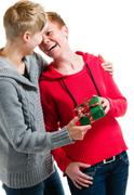 Lesbian couple Stock Photos