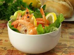 seafish starter - stock photo