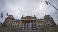 Stock Video Footage of Reichstag building in Berlin, German parliament (Bundestag)