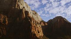 Majestic Rock pan 4K Stock Footage
