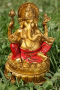 god ganesh - stock photo