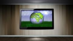 Earth, Nature Concept in Monitor Stock Footage