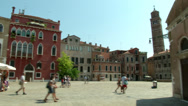 Stock Video Footage of Venice campo 07