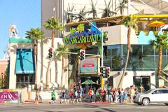 Margaritaville restaurant-gift shop  in las vegas Stock Photos