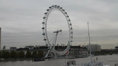 Eye of London Stock Footage