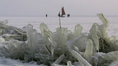 Winter in Germany - Darss Peninsula, Baltic Sea Stock Footage