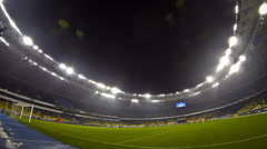 UEFA Europa League game between FC Dynamo Kyiv and Rapid Wien Stock Footage