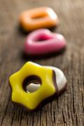 colorful confectionery - stock photo