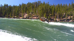 Yellowstone River Rapids - stock footage