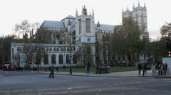 Westminister Abbey Stock Footage