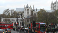 Stock Video Footage of Westminister Abbey
