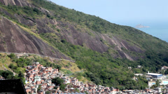 Stock Video Footage of Favela Rocinha / Rocinha Slum