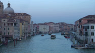 Stock Video Footage of Canal Grande Scalzi 02