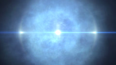 Clouds fly ray 4k Stock Footage