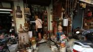 Stock Video Footage of Chor Bazaar, Mumbai, India