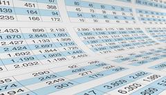 spreadsheet - stock illustration