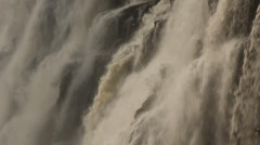Mass of falling water, Victoria Falls, Zambia 21 Stock Footage