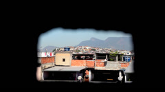 Favela Maré view Stock Footage