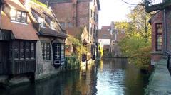 Bruges,Brugge, Belgium. Stock Footage