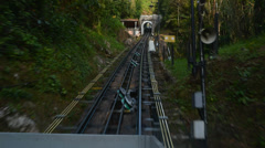 Penang Hill Cable Car Stock Footage