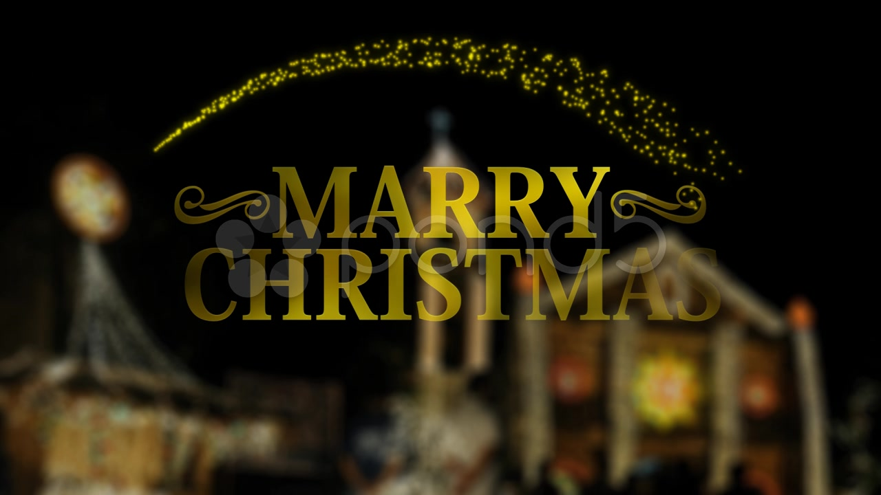 After Effects Project - Pond5 AE MERRY CHRISTHIMAS 33461037