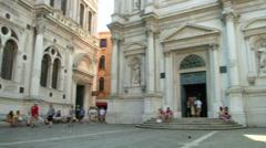 Scuola San Rocco 01 Stock Footage