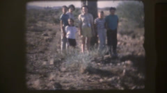 1950's & 60's  vintage, Family vacation Stock Footage
