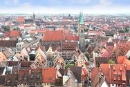 Stock Photo of View of Nuremberg in Germany