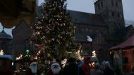 Stock Video Footage of Riga at Christmas time