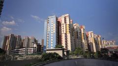 Singapore Flats Stock Footage