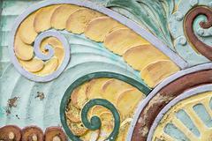 Art deco design Stock Photos