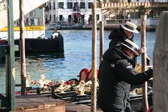 Venice in the winter Stock Photos