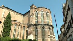 Basilica Frari 04 Stock Footage