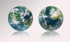 Mother earth Stock Illustration