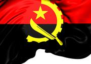 Stock Illustration of flag of angola