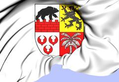 Anhalt-bitterfeld coat of arms Stock Illustration