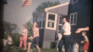 Stock Video Footage of 1950's & 60's  vintage, picnic