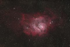 Stock Photo of Laguna Nebula, emission nebula