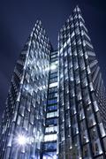 Germany, Hamburg, Modern skyscrapers Dancing Towers - stock photo