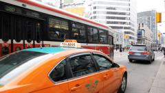 Toronto Streetcar Stock Footage